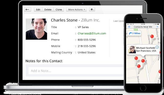 Giải pháp phần mềm quản lý khách hàng Zoho CRM