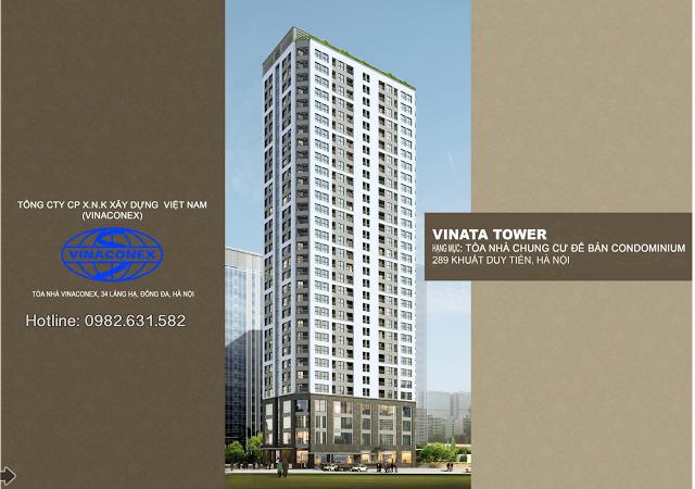 thiết kế nổi bật Vinata tower