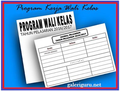 Unduh Contoh Program Kerja Guru Wali Kelas Format Doc