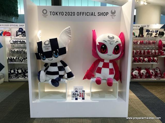 tokyo 2020 official shop en Odaiba