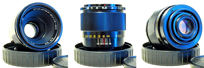 MC Industar 61 LZ f/2.8 Close Focus 50mm f/2.8 #120 M42 mount