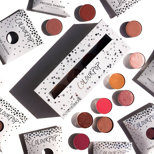 Colourpop Lo-key palette review, pictures and swatches