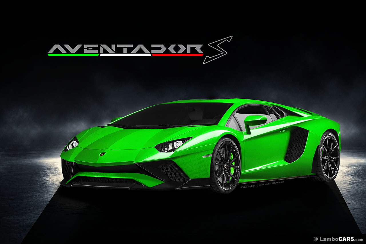 is this how the lamborghini aventador s will look carscoops. Black Bedroom Furniture Sets. Home Design Ideas