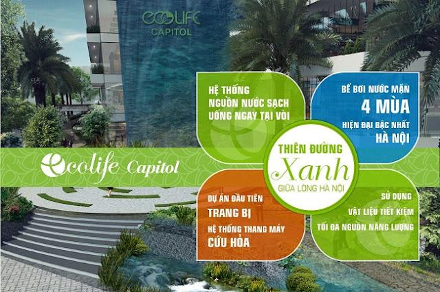 Tiện ích khác biệt tại Ecolife Capitol