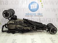 Kereta Bayi LightWeight BABYELLE S502RS Techno - Hadap Depan atau Belakang