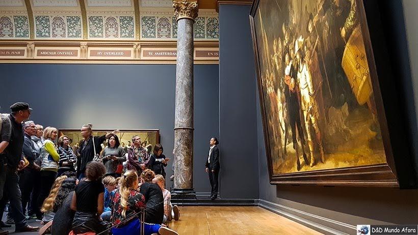 Tela Ronda Noturna de Rembrandt no Rijksmuseum: como visitar o museu de Amsterdam