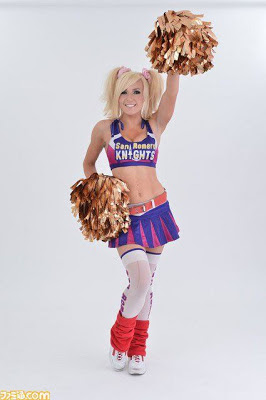 Jessica Nigri cheerleader
