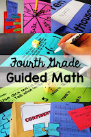 Fourth Grade Guided Math lesson plans, centers, assessments, and more. Everything you need to run small group math in your 4th grade classroom!