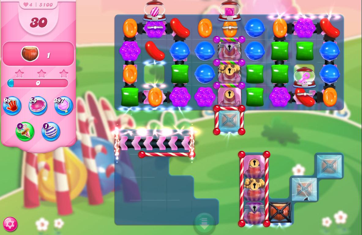Candy Crush Saga level 5100