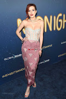 Bella Thorne looks stunnign in a designer gown at the Premiere of Midnight Sun ~  Exclusive Galleries 013.jpg