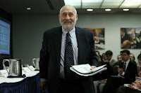 "Economist Joseph Stiglitz writes of climate change: ""There is a point at which, once this harm occurs, it cannot be undone at any reasonable cost or in any reasonable period of time. Based on the best available science, our country is close to approaching that point."" (Credit: Win McNamee/Getty Images) Click to Enlarge."
