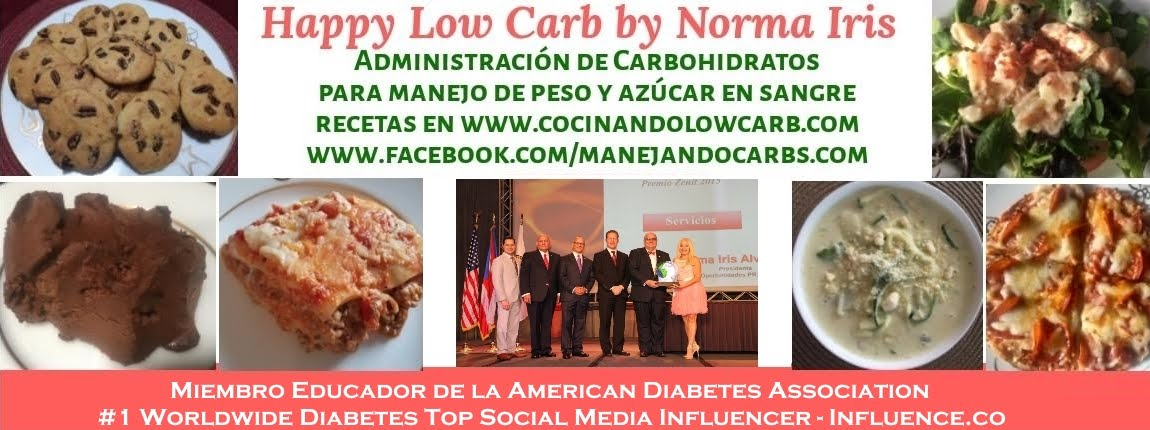 Happy Low-Carb by Norma Iris - COCINANDO LOW CARB