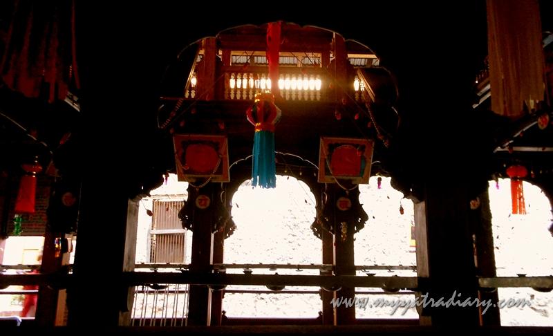 Premises of Kasba Ganpati Temple in Pune