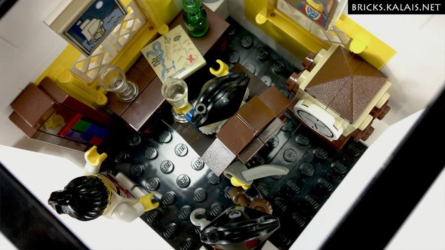 11. Ostatnie piętro z odczepianym dachem to pokój gubernatora.