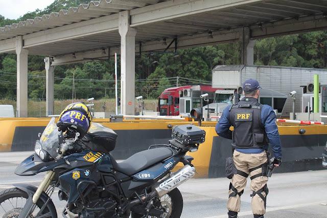 Operação de combate ao crime da PRF na Régis Bittencourt