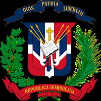 Logo Gambar Lambang Simbol Negara Republik Dominika PNG JPG ukuran 200 px