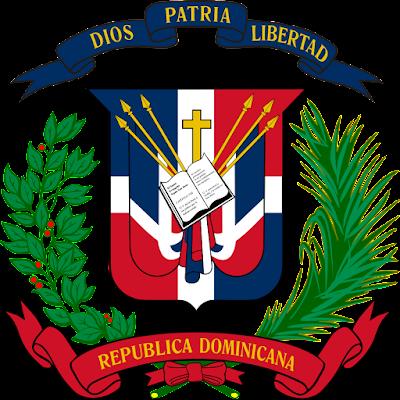 Coat of arms - Flags - Emblem - Logo Gambar Lambang, Simbol, Bendera Negara Republik Dominika