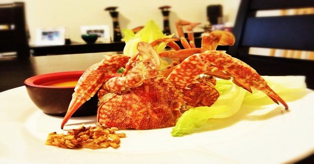 Boiled Crab With Garlic Butter Sauce Recipe