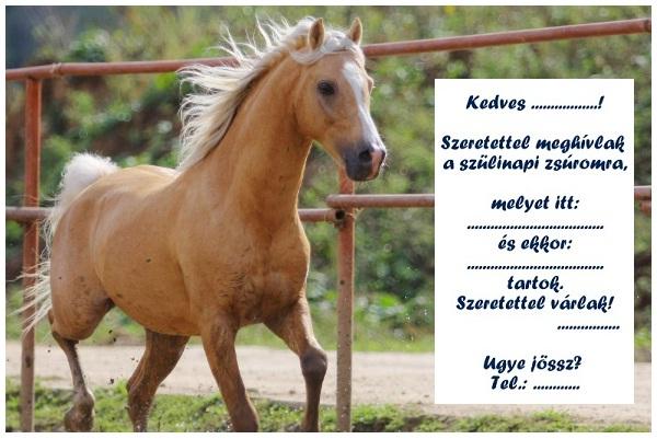 születésnapi lovas képek Zsúrda: Lovas zsúr meghívó sablon születésnapi lovas képek