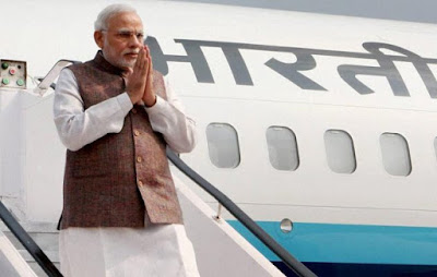 PM Modi on a 3 Nations visit