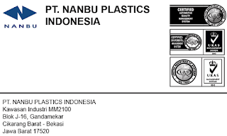 Lowongan Kerja MM2100 PT. Nanbu Plastics Indonesia Cikarang