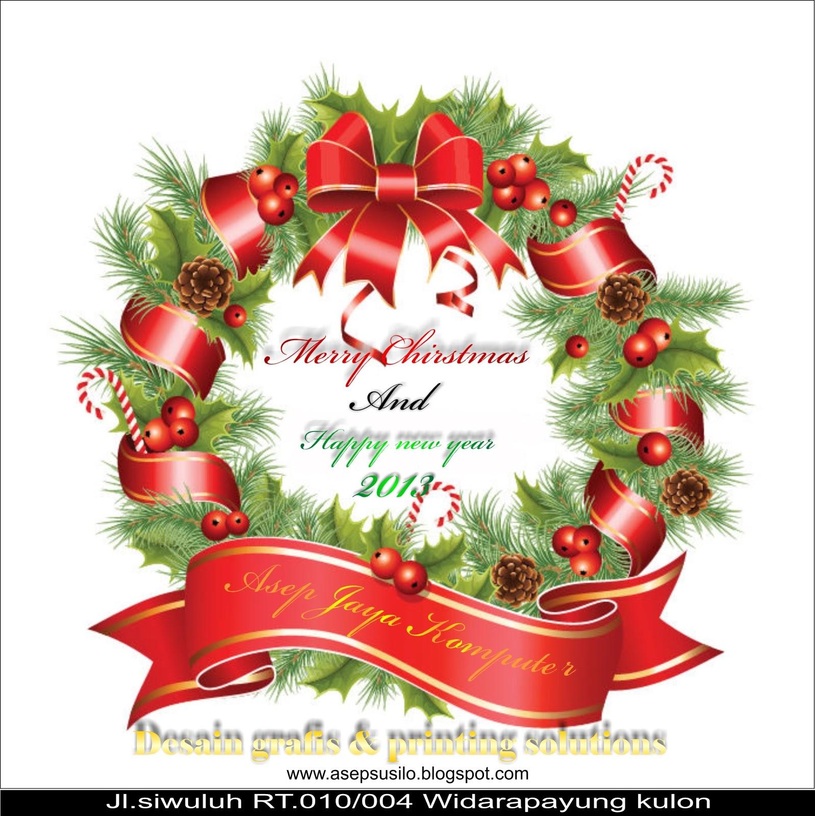 Amplop Undangan Natal - Harga Template Undangan Amplop