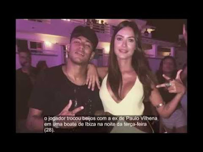Atriz Thaila Ayala negou beijo em Neymar Blog Cantinho Ju Tavares