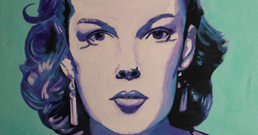 Judy Garland iCONS DESIGNS Pop Art Acrylic Painting
