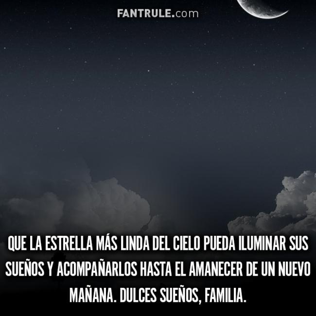 Imágenes de Buenas Noches Familia Dulces sueños