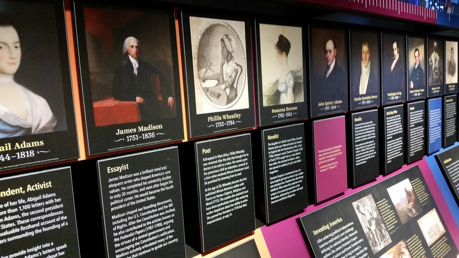 Cryptomnesia: The American Writers Museum - Literary Tour of