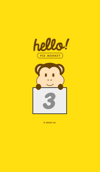 HELLO PEE MONKEY 3