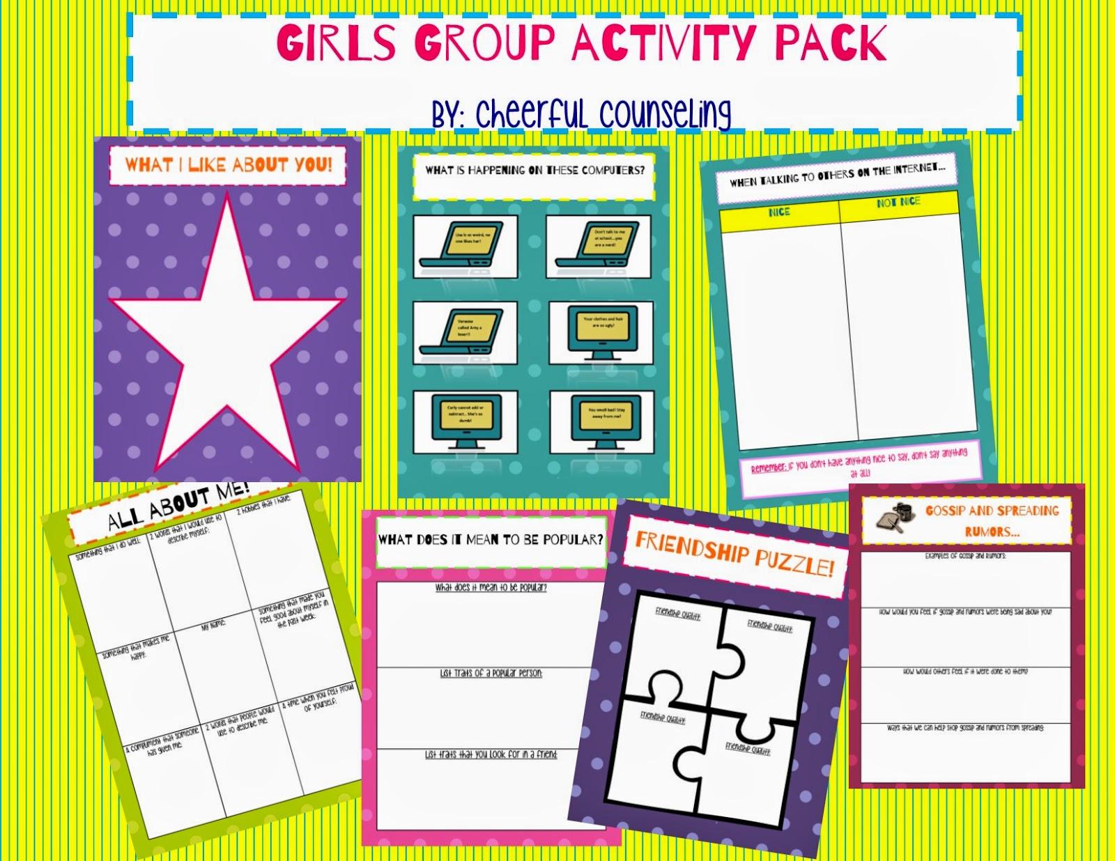 Self Esteem Group Activity 29