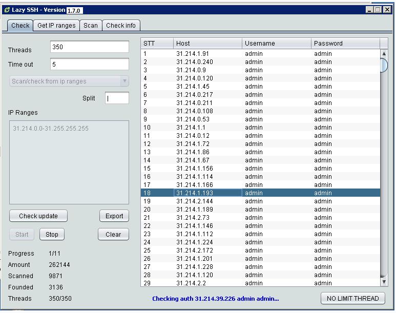 [Image: Lazy%2BSSH%2B-%2BSSH%2BScanner%2B-%2BSSH...V1.7.0.png]