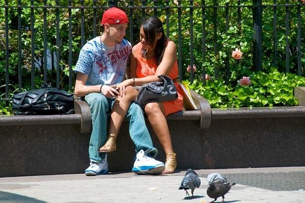 Fira alla hjärtans dag i New York