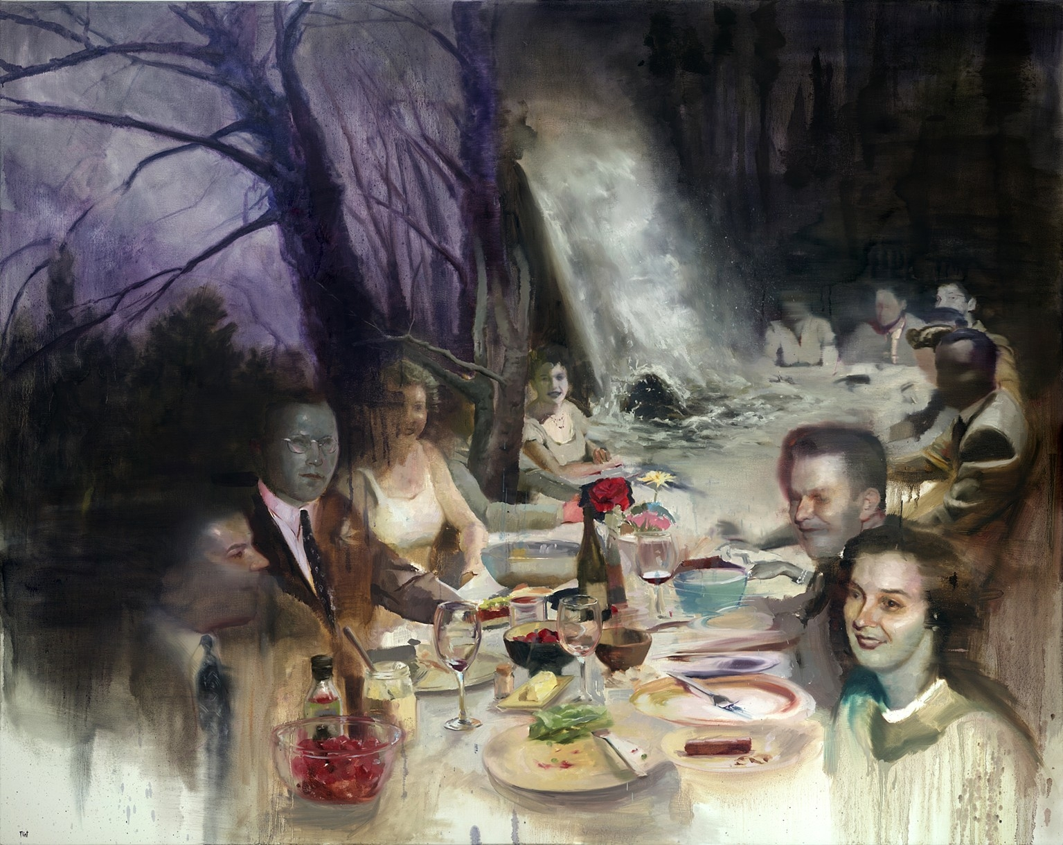 04-The-Banquet-Joshua-Flint-Surreal-Collage-of-References-in-Oil-Paintings-www-designstack-co