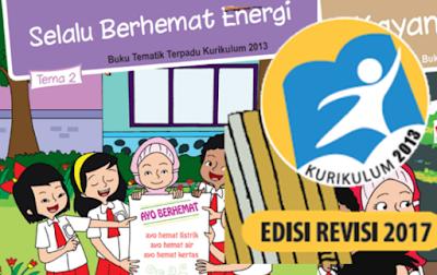Download Buku Kurikulum 2013 Kelas 4 SD/MI Semester 1 Edisi Revisi Tahun 2017