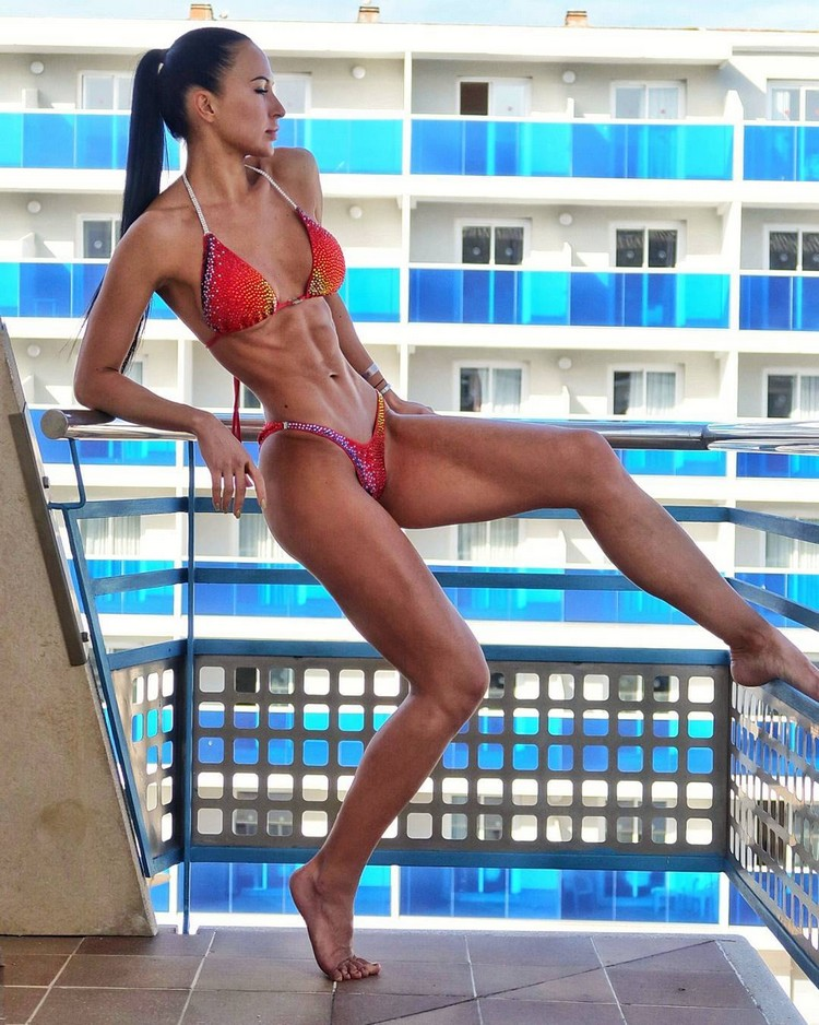 Xenia Sheveleva Russian Fitness Model Motivation