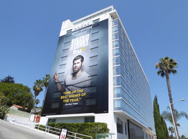 Billy on the Street season 5 Emmy nominee billboard
