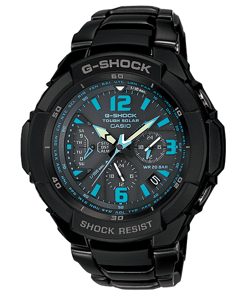Casio G Shock User Guide and Review: Analog G Shock ...