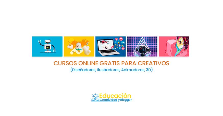 cursos online gratis para diseñadores Gráficos 2019
