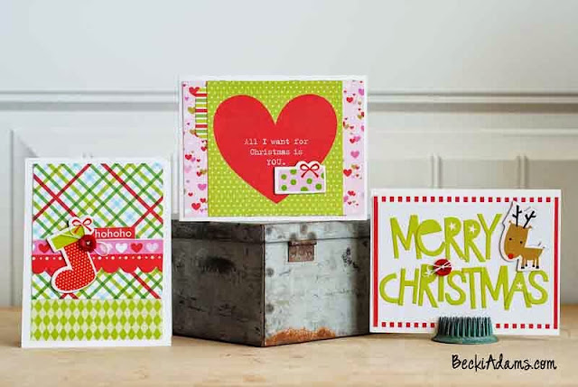 Christmas Cards by Becki Adams @jbckadams #Christmas # Christmascards #handmadeChristmascards #MerryChristmas
