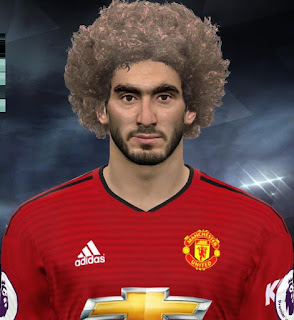 PES 2017 Faces Marouane Fellaini by Facemaker Huseyn