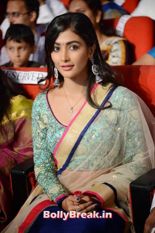 Pooja Hegde Pics, hot Pics of Pooja Hegde from Mukunda Movie Audi Launch