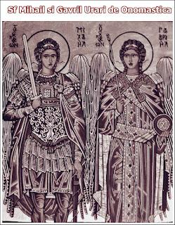 Sf Mihail si Gavril Urari de Onomastica La Multi Ani