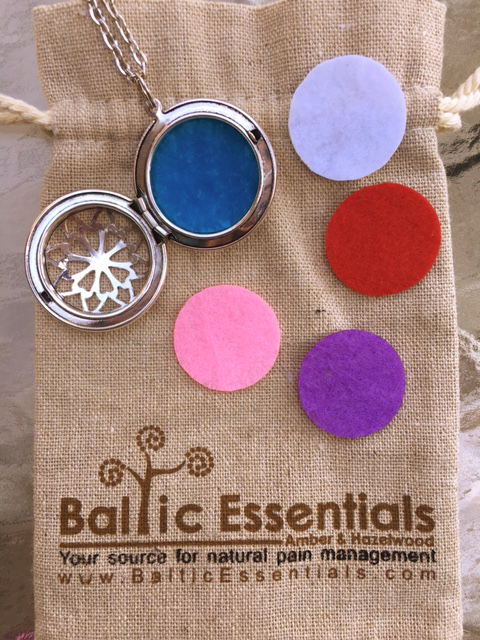 Baltic Essentials - Essential Oil Diffuser Necklace and Giveaway