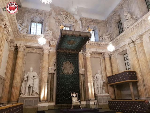 Sala de Estado en el Palacio Real, Estocolmo, Suecia