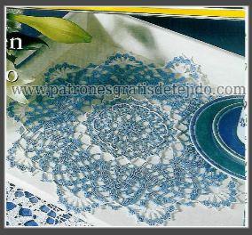 revista gratis de carpetas tejidas al crochet en español
