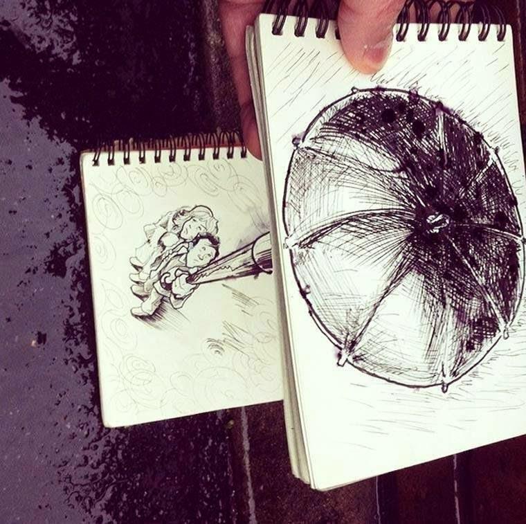 Troqman el artista de los garabatos