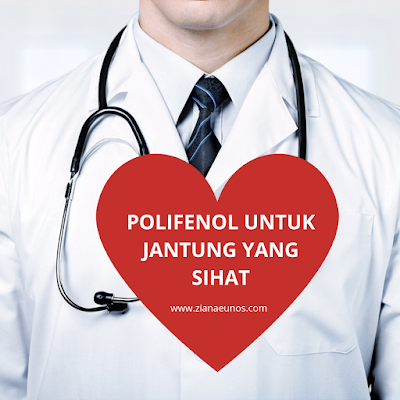 Kebaikan polifenol untuk jantung yang sihat