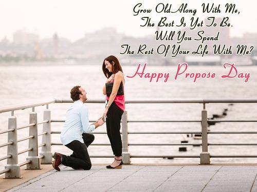 Happy Propose Day : Valentine Week  IMAGES, GIF, ANIMATED GIF, WALLPAPER, STICKER FOR WHATSAPP & FACEBOOK